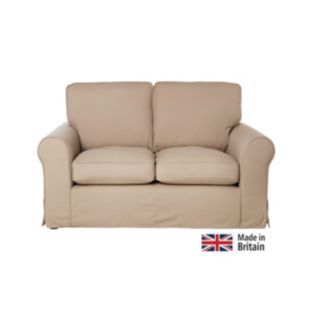 Buy Bessie Regular Sofa With Loose Cover Taupe At Argos Co Uk