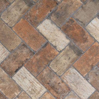 Central Park Brick Brick Look Tile Flooring Tile Basement Floor