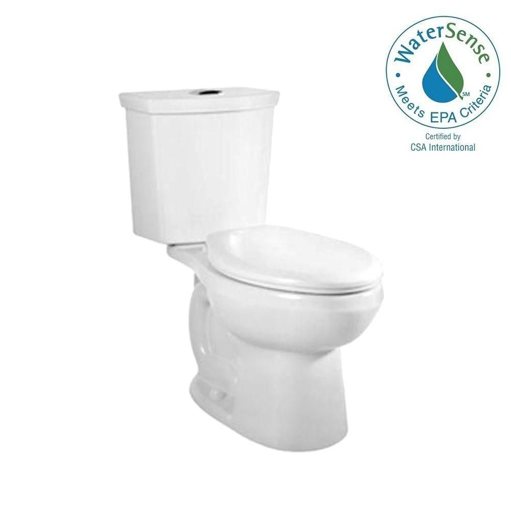 American Standard Cadet 3 Tall Height 2 Piece 1 0 1 6 Gpf Dual Flush Elongated Toilet With Slow Close Seat In White 3380 216st 020 The Home Depot Dual Flush Toilet American Standard Toilet