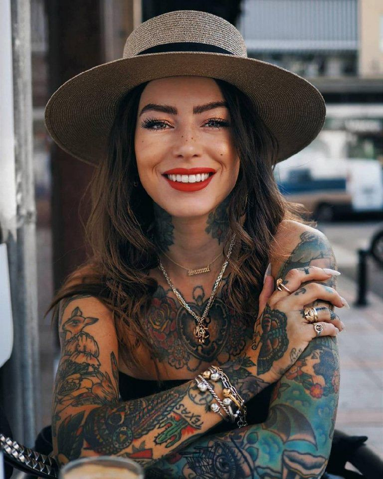 Tattoo Ideas | Tattooed girls models, Girl tattoos