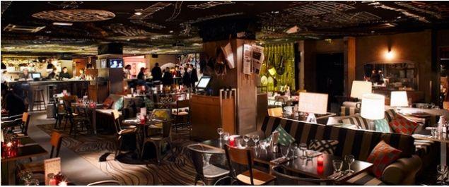 Restaurant Mama Shelter Paris - Restaurant Italien 109 rue de Bagnolet 75020 Paris | Restaurant ...