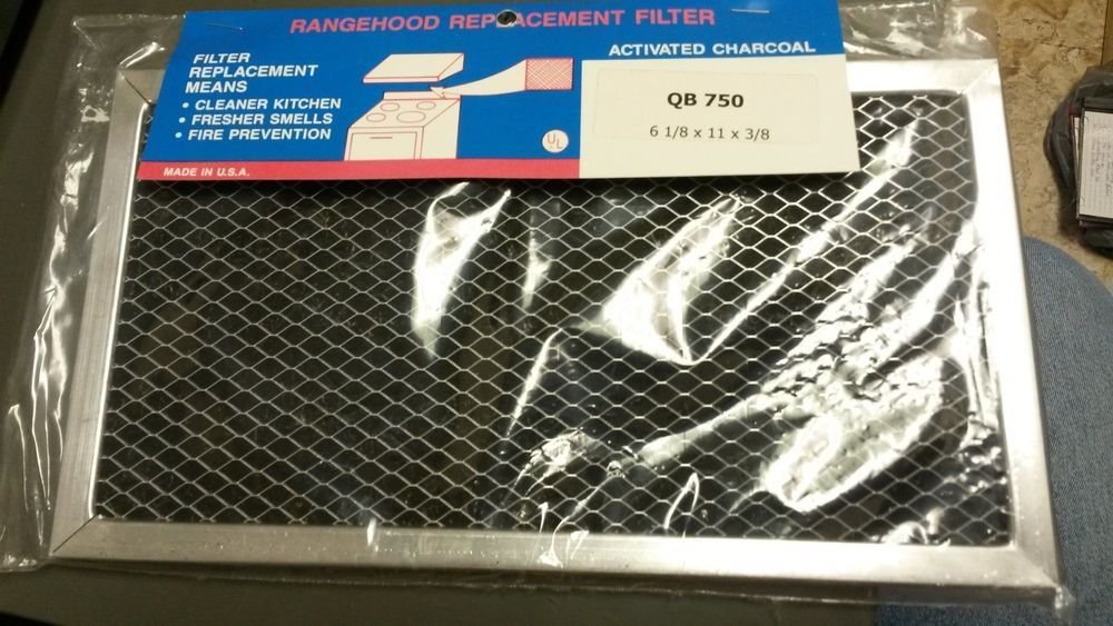 Universal Range Hood Charcoal Filter 6 1 8 X11 X3 8 Qb750 Appliance Part