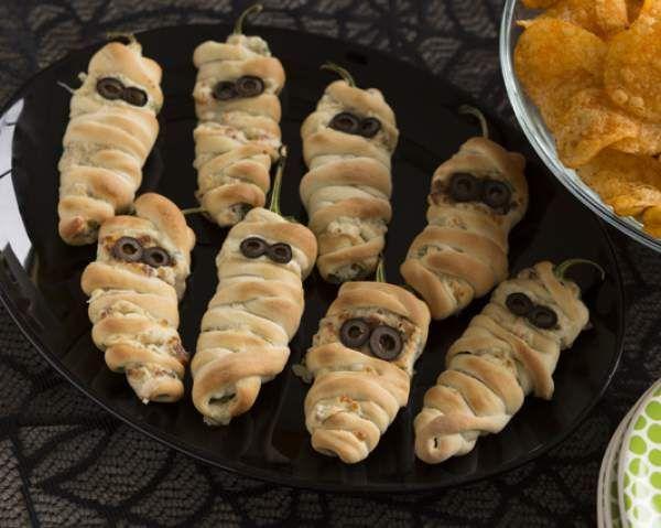 Jalapeno Popper Mummies recipe
