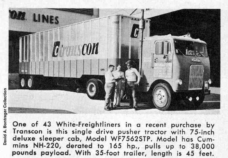 Freightliner Of Nh >> Pin By Mark On Classic Truckswhite Freightliner