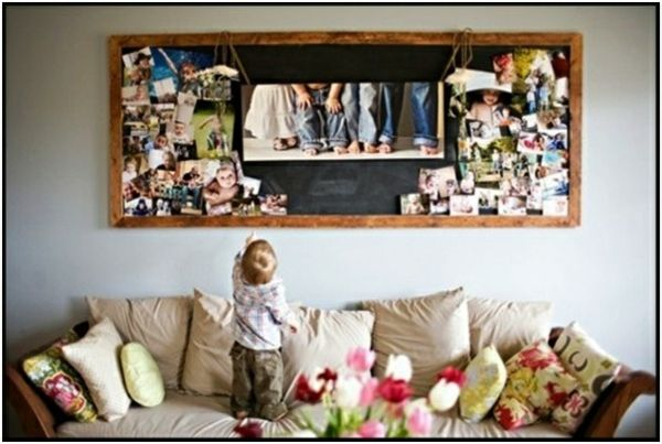 familienfotos an die wand wohnzimmer ber sofa fotow nde pinterest familienfotos sofa und. Black Bedroom Furniture Sets. Home Design Ideas