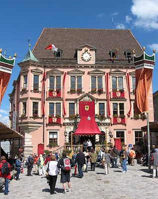 Kaufbeuren, Germany...I lived here for about 6 months as a teen during the late 70's. A lovely town surrounded by the alps!