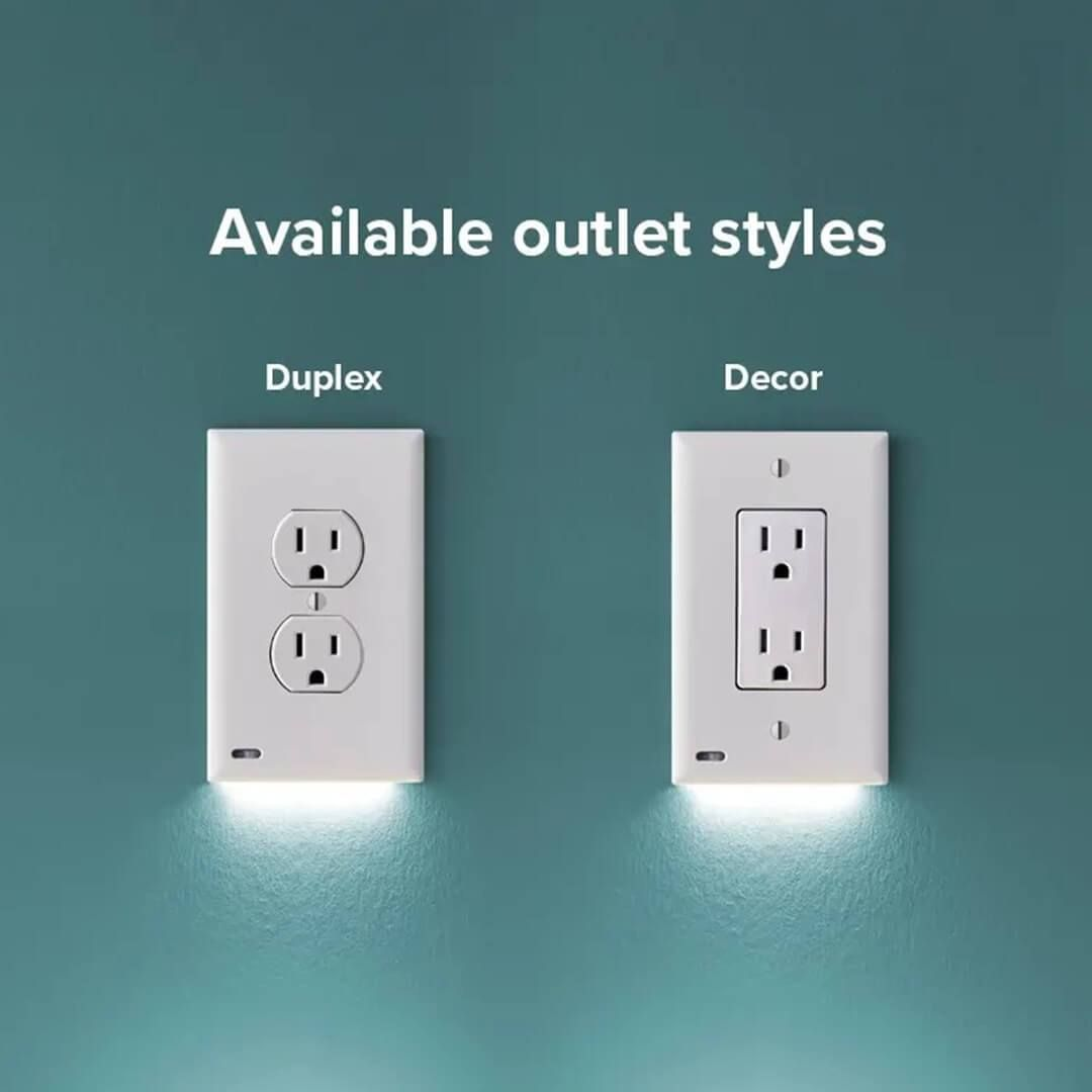 Christmas Big Sale Outlet Wall Plate With Led Night Lights No