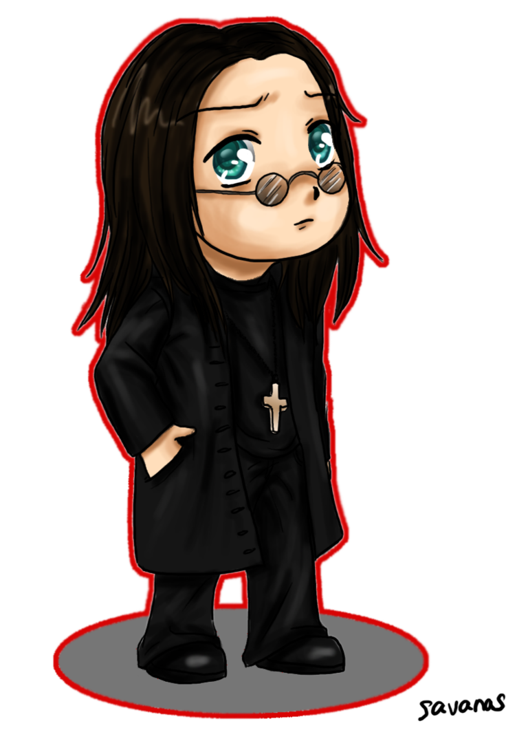 Ozzy Osbourne Chibi By Savanasart Ozzy Osbourne Chibi Deviantart
