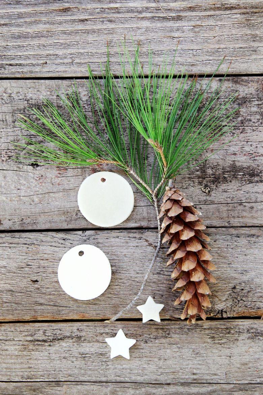 Homemade Salt Dough & Air Dry Clay Ornaments (3 Ways