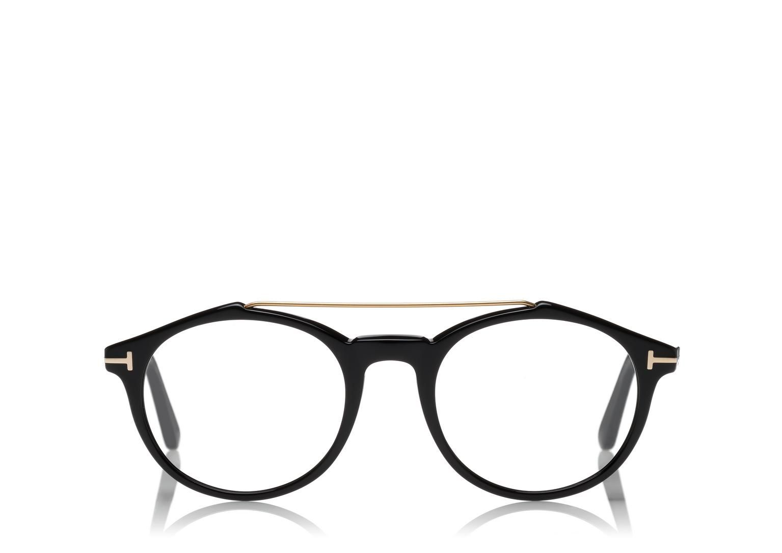 b87deedf48a ROUND OPTICAL FRAME WITH BROW BAR