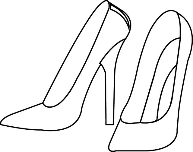 dessin de botte a talon