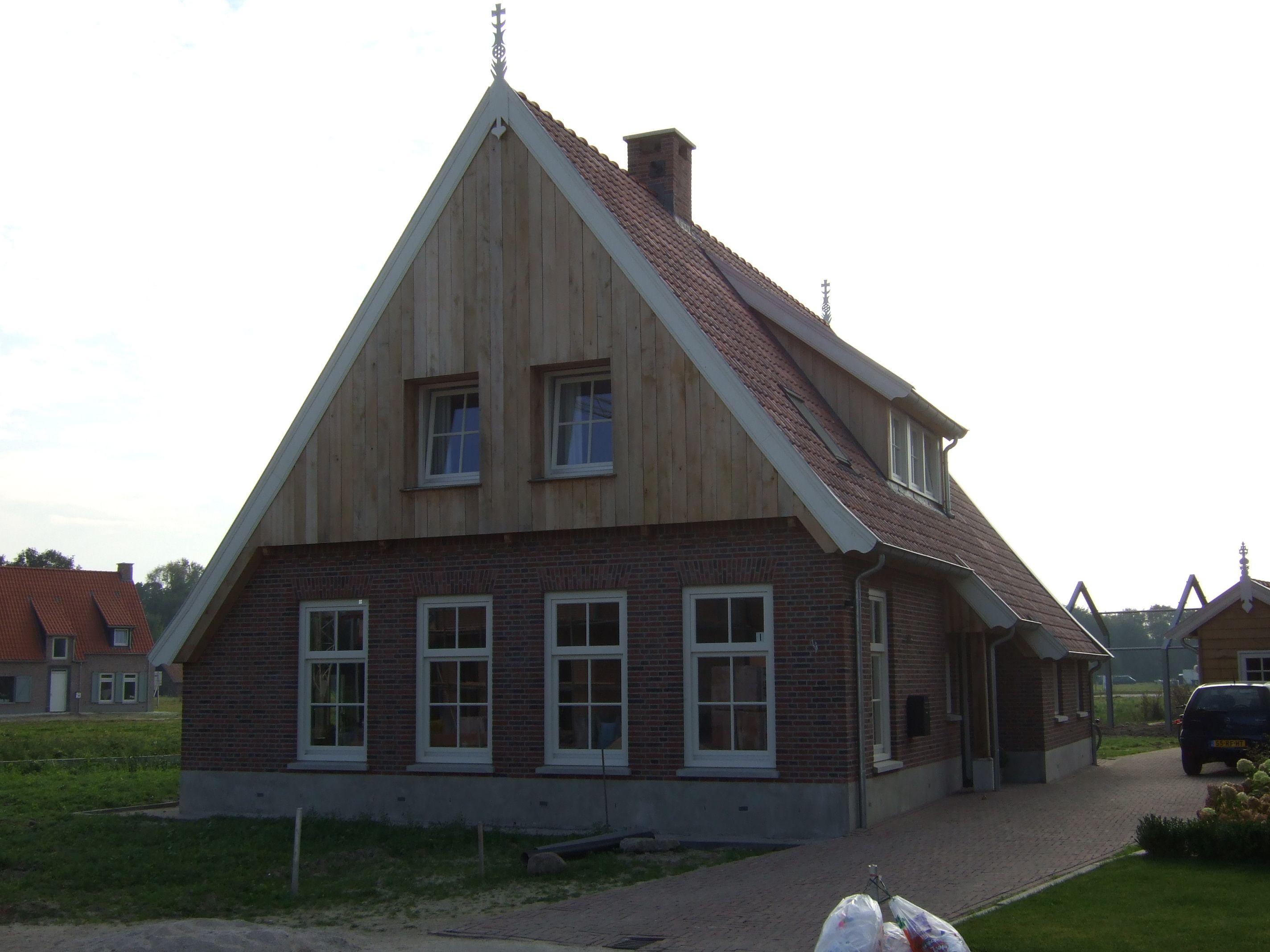 Afbeeldingsresultaat voor twents landelijk woning roedes gevel pinterest exterior and house for Moderne stijl gevel