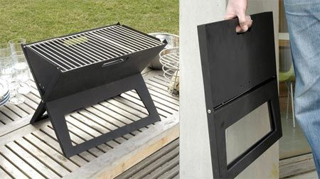 @Robert Griffin, this is the grill I got for Andrey! The Notebook Portable Flat Folding BBQ Grill. Isn't it fab?