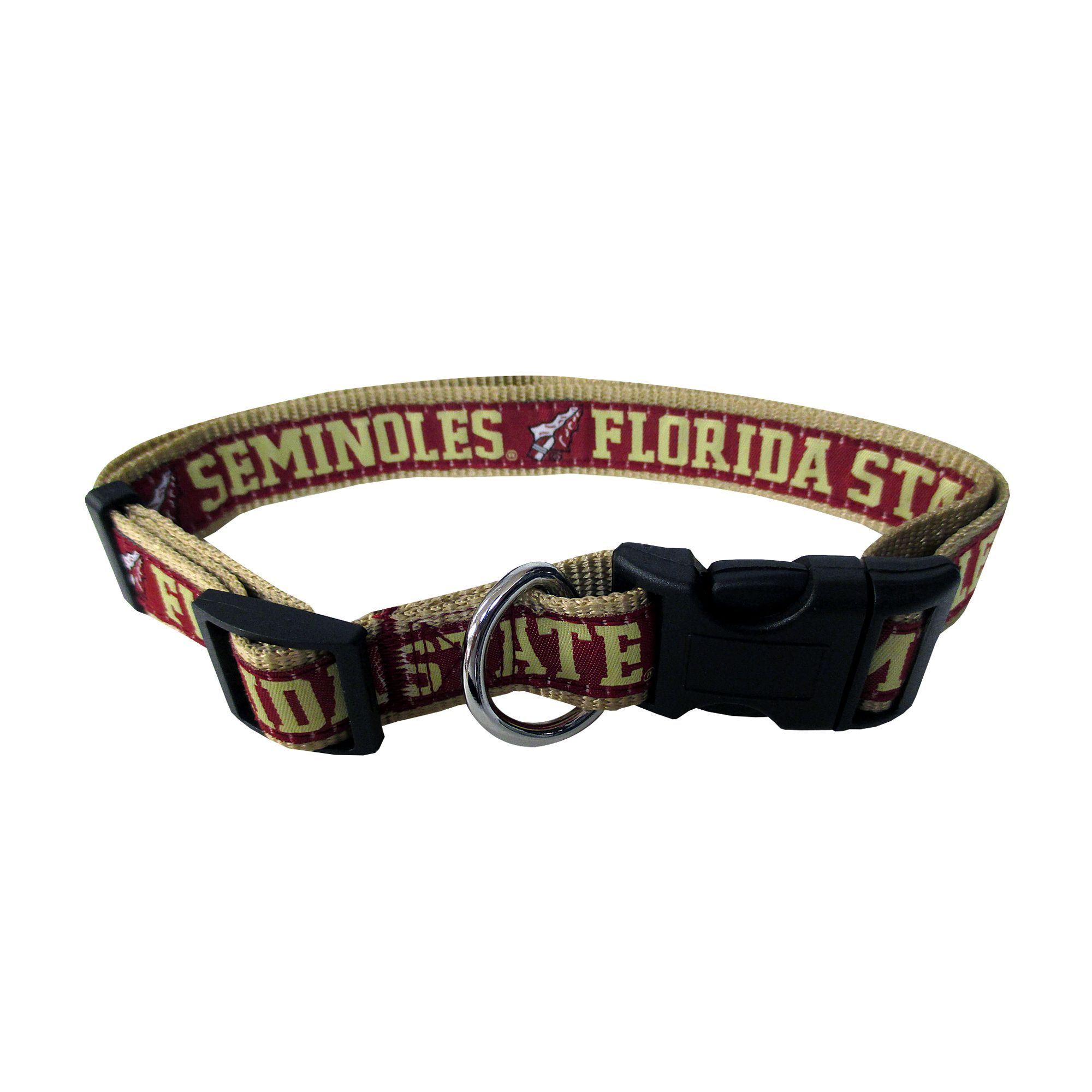 Florida State Seminoles NCAA Dog Collar size Medium, Pets