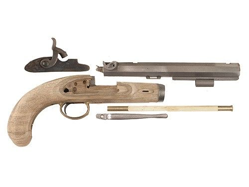 Lyman Plains Muzzleloading Pistol Unassembled Kit 50 Caliber