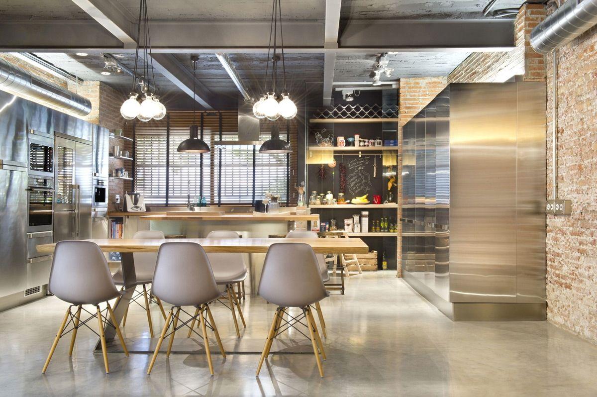 creative industrial kitchen decor designs for your urban