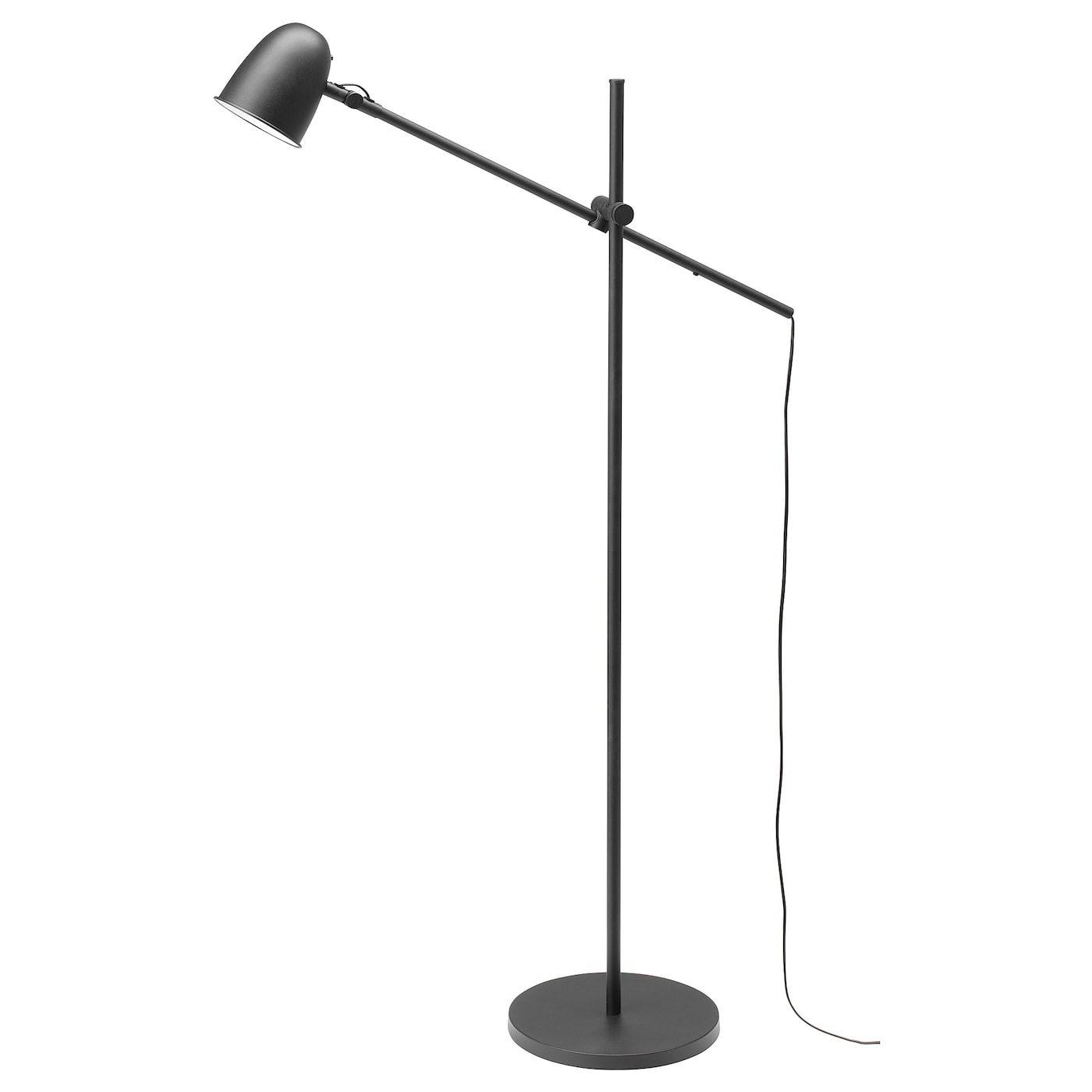 Skurup Staande Leeslamp Zwart Ikea Floor Lamp Floor Lamp
