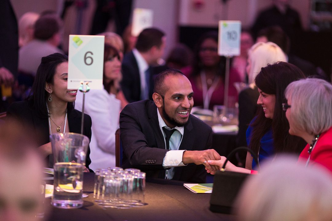 The mingling continues, as the finalists take to their tables for the award ceremony. #fsb #businessawards #business #smallbusiness