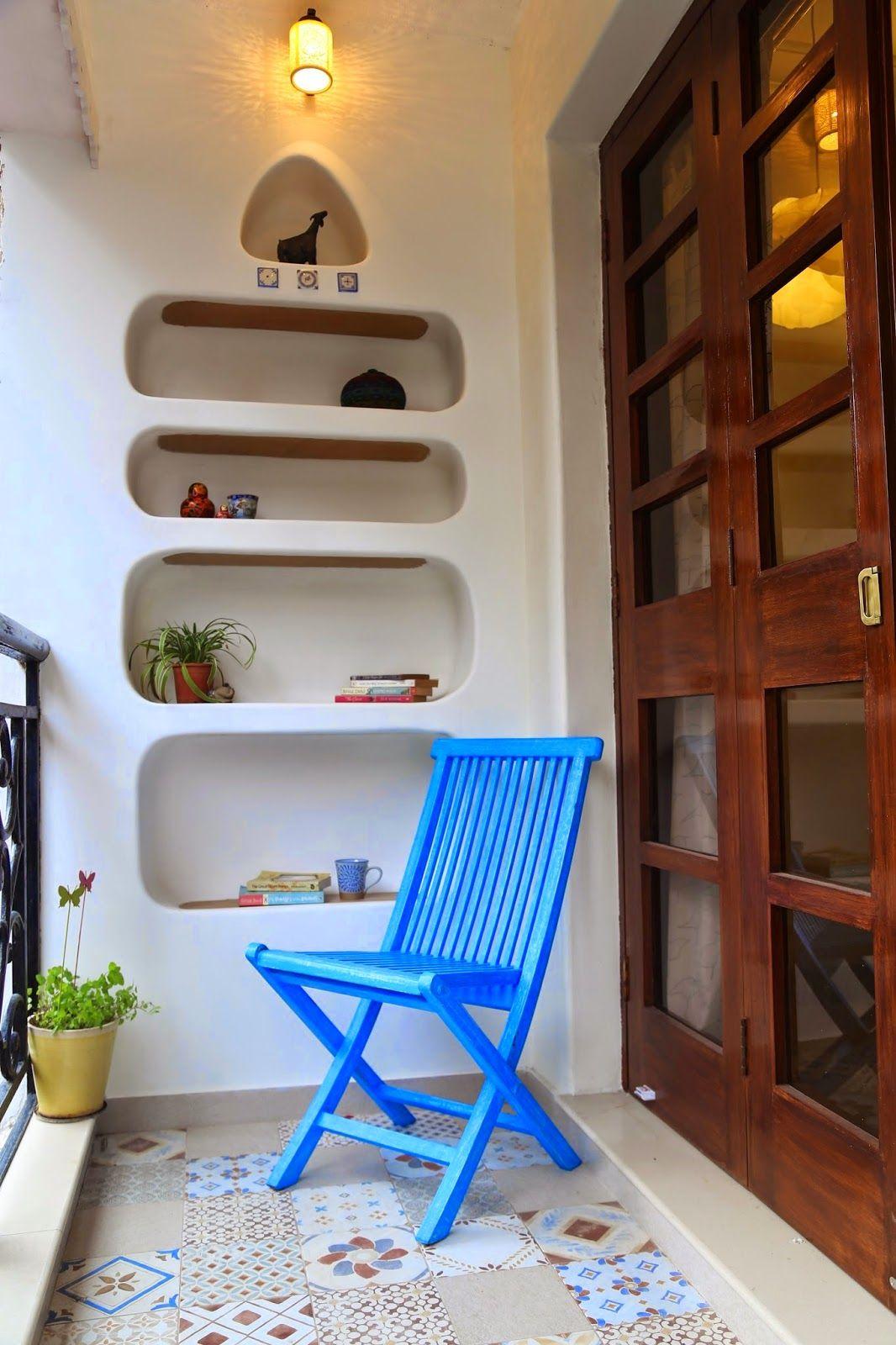 Niches+Jaansi+bedroom+balcony Indian Door Tiles