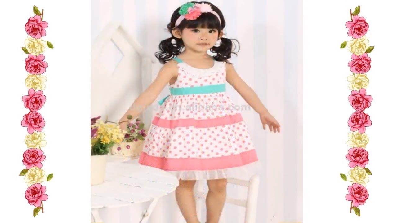 4566e3991fd5 Winter Collection New Fancy Cotton Baby Frock Designs - Kids Frock ...