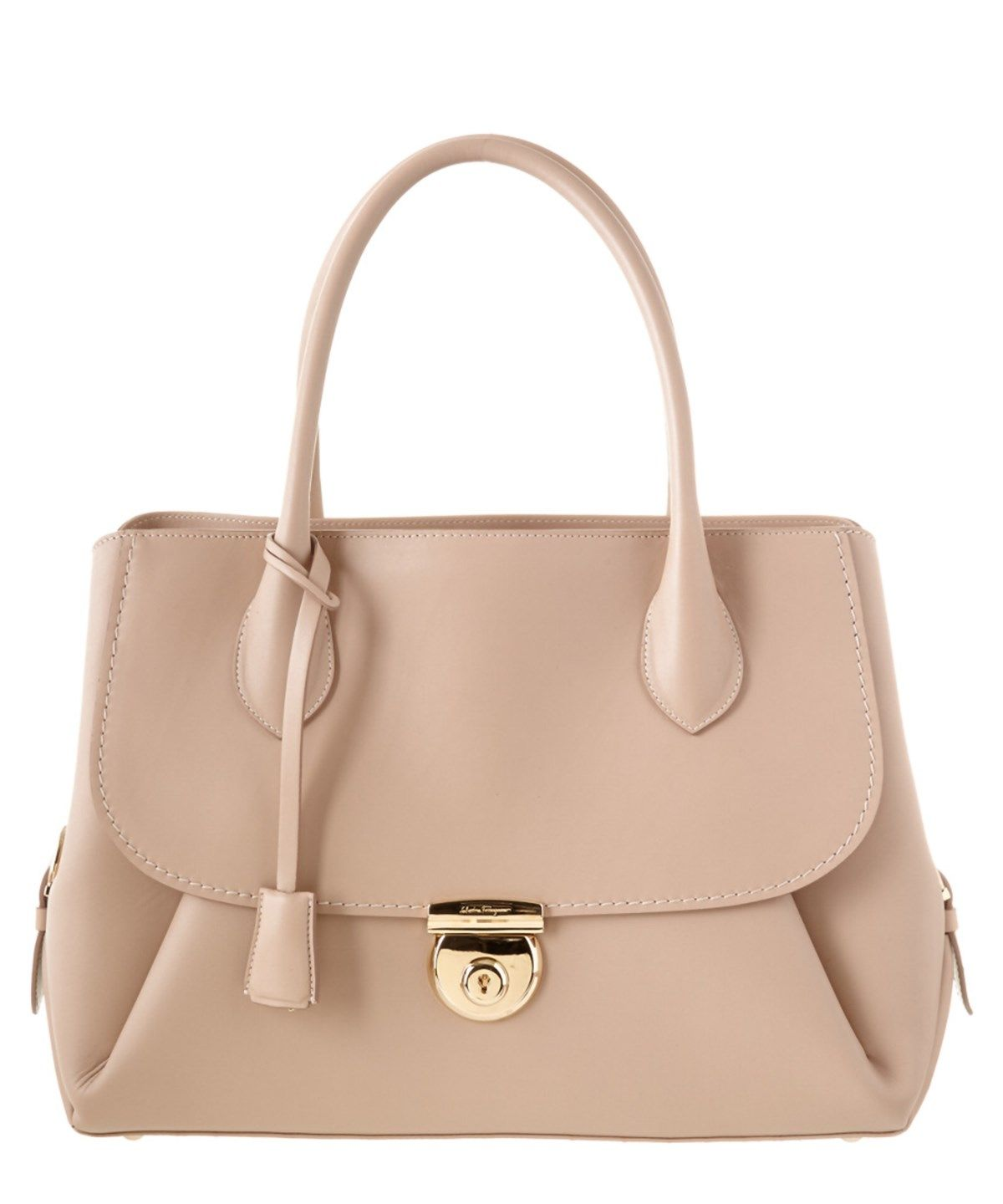 SALVATORE FERRAGAMO Salvatore Ferragamo East West Fiamma Leather Tote .   salvatoreferragamo  bags   c94153811ad4e