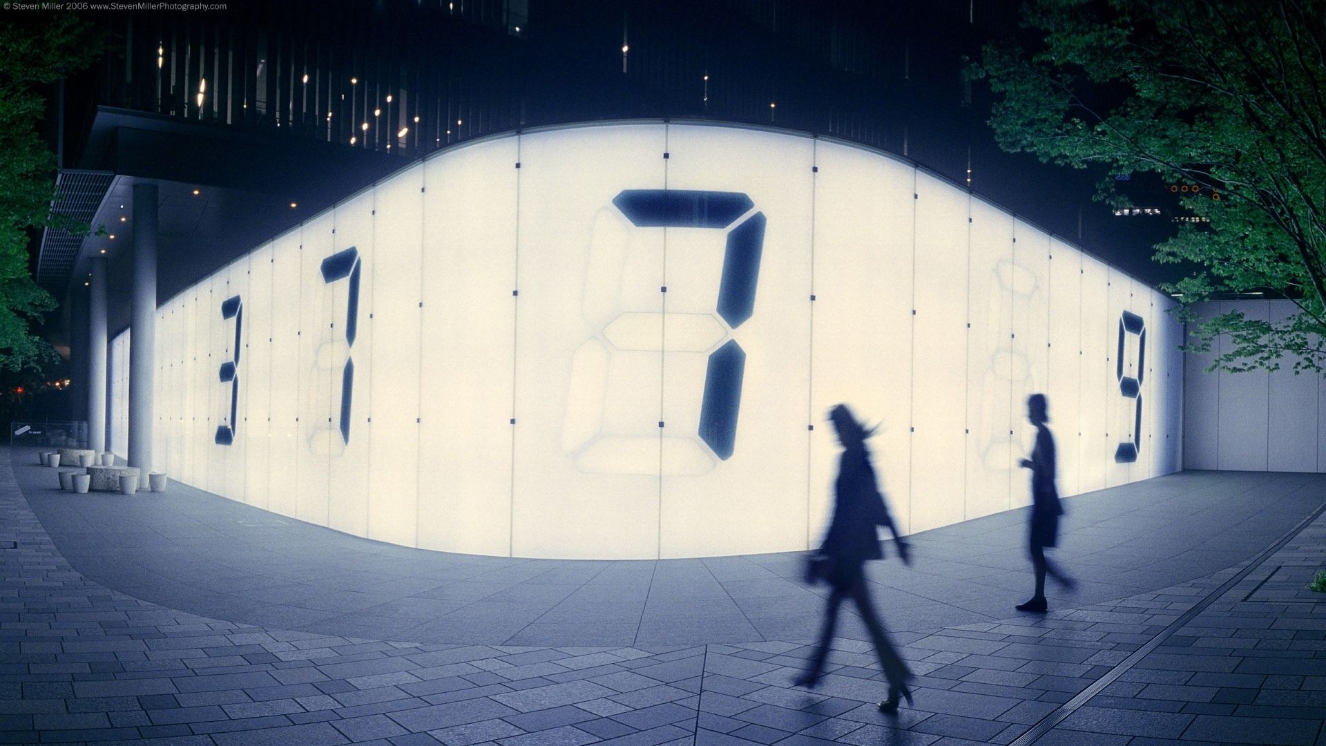 Roppongi Hills Digital Wall Counter Abstract Project Fringe