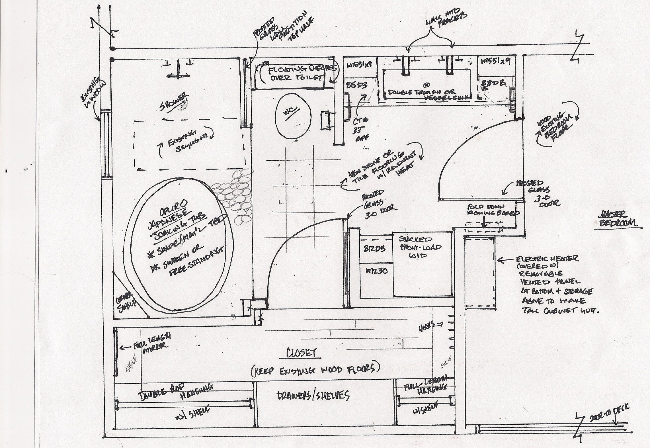 Bathroom Floor Plans With Washer Dryer