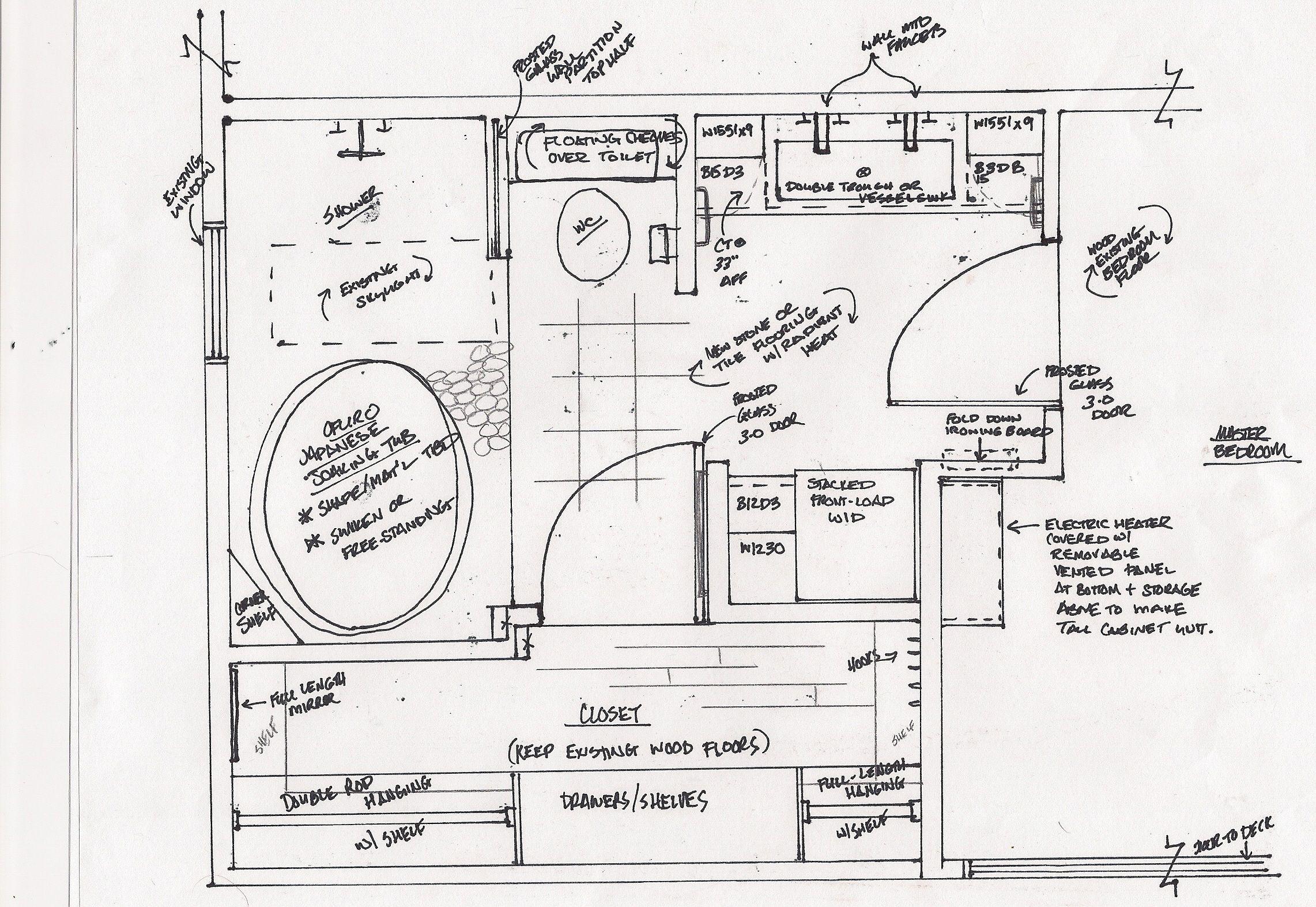 Bathroom Floor Plans With Washer Dryer