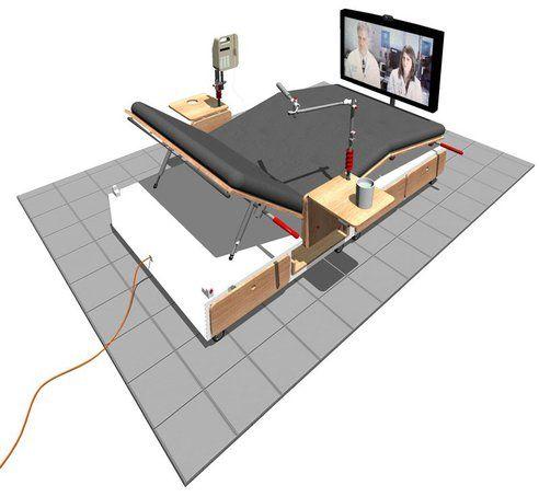 Green Design Eco Friendly Furniture Hospital Bed Design