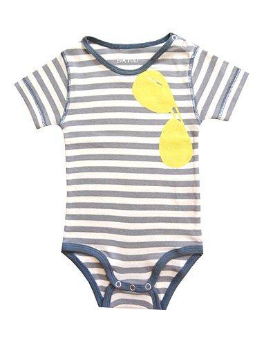 Eva Grey Striped Sunglass Body | Haute Tots // Baby Fashion ...