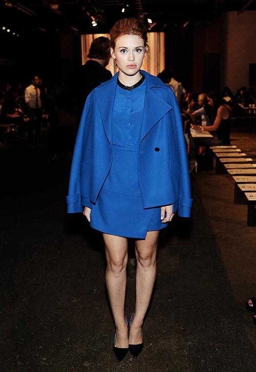 Holland Roden Fashion, Fashion week, New york fashion week