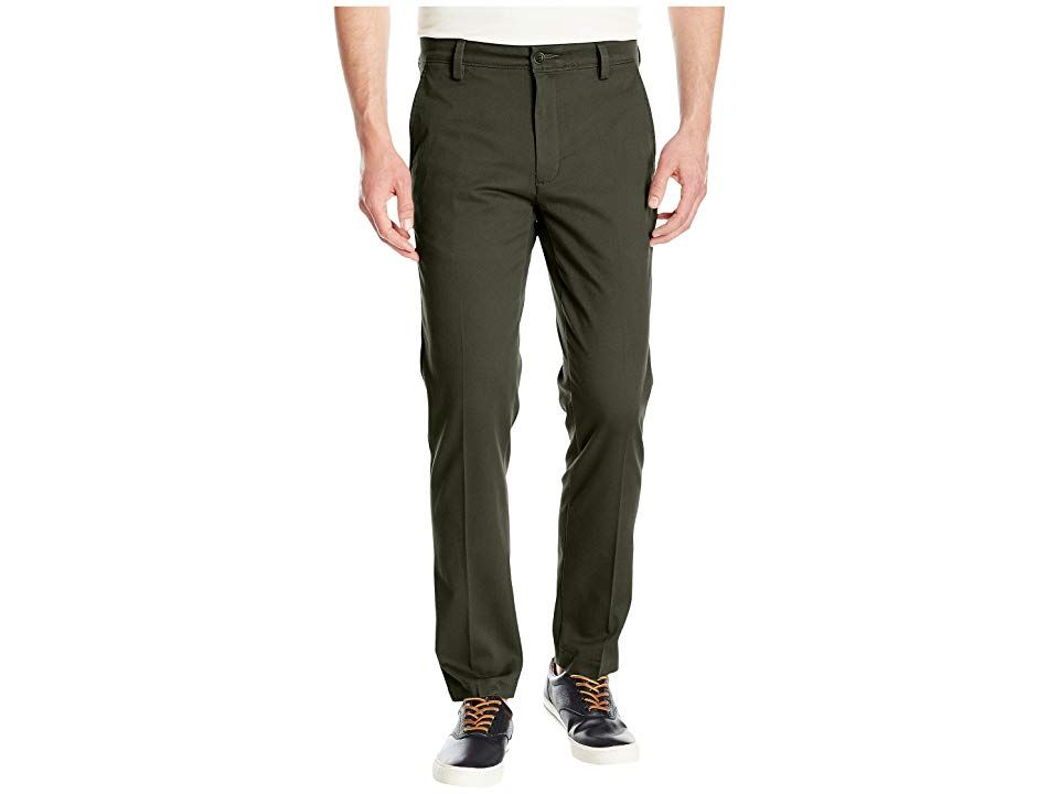 Dockers Easy Khaki Slim Tapered Fit Pants Olive Grove Mens Clothing Dress for the occasion in an easy Dockers Khaki pant Slim fit pant tapers slightly through the leg Add...