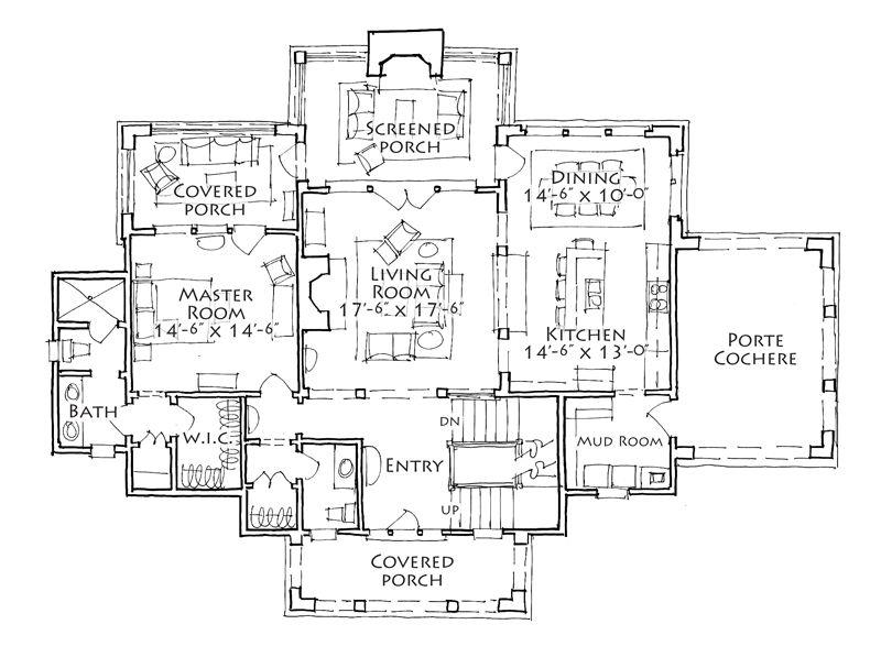 House Plan Hale S Landing Stephen Fuller Inc House Plans How To Plan New House Plans