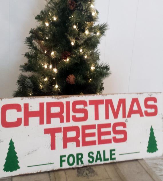 1725 x 48 Christmas Trees For Sale Wall Decor Holiday Sign Custom