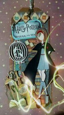 Hermione Granger by KriScrap Cris Bochnia.