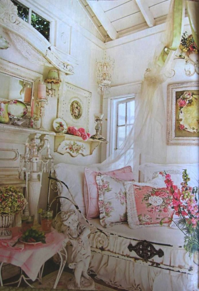 Shabby Chic Beach Cottage Decor Country
