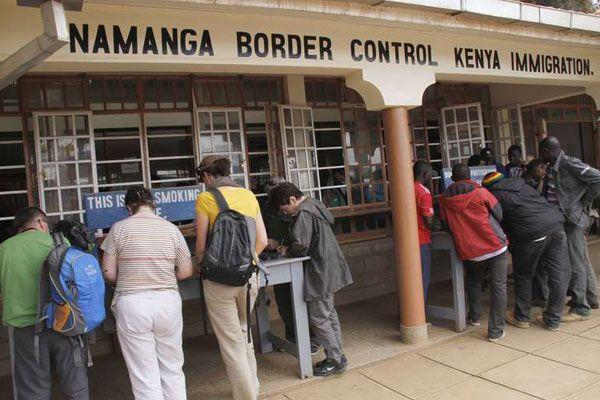 Kra Smashes Tax Evasion Racket At Namanga Border Border Kenya Immigration