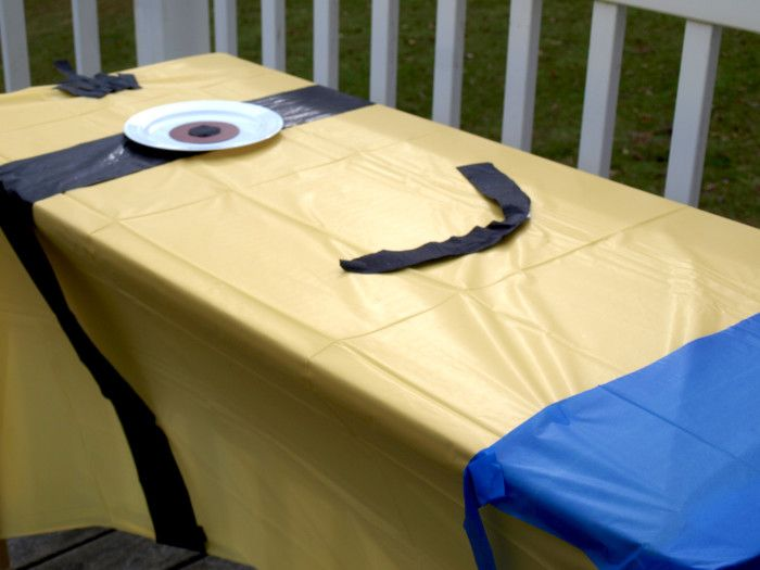 Pinterest : minion table cover - amorenlinea.org
