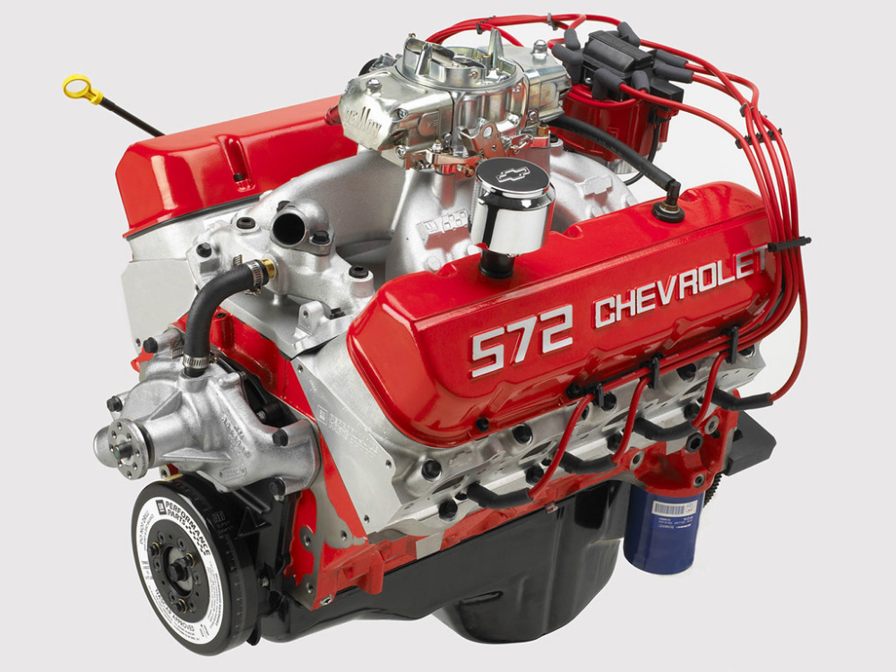 Motor Chevrolet 572 V8 Big Block Chevy Motors Crate Motors Crate Engines