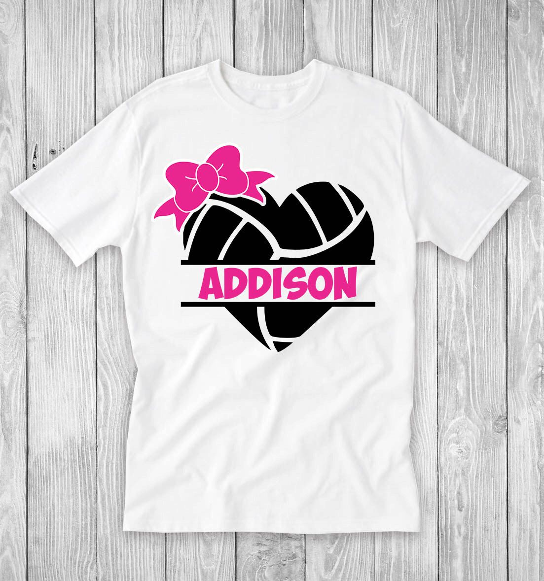 Volleyball Heart Personalized T Shirt Girls Volleyball Etsy Volleyball Mom Shirts Design Volleyball Tshirt Designs Volleyball Mom Shirts