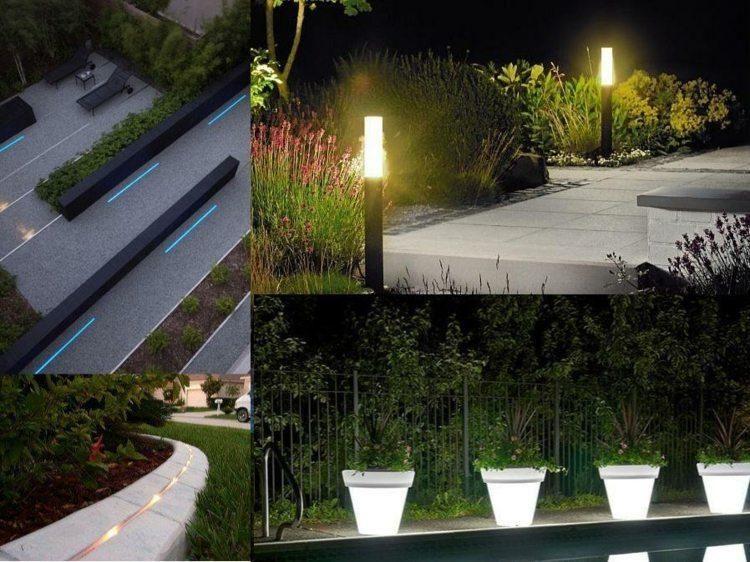 Garten Fuhrten Gluhbirnen Um Die Umwelt Zu Verandern Neueste Dekor Beleuchtung Garten Moderner Garten Indirekte Beleuchtung