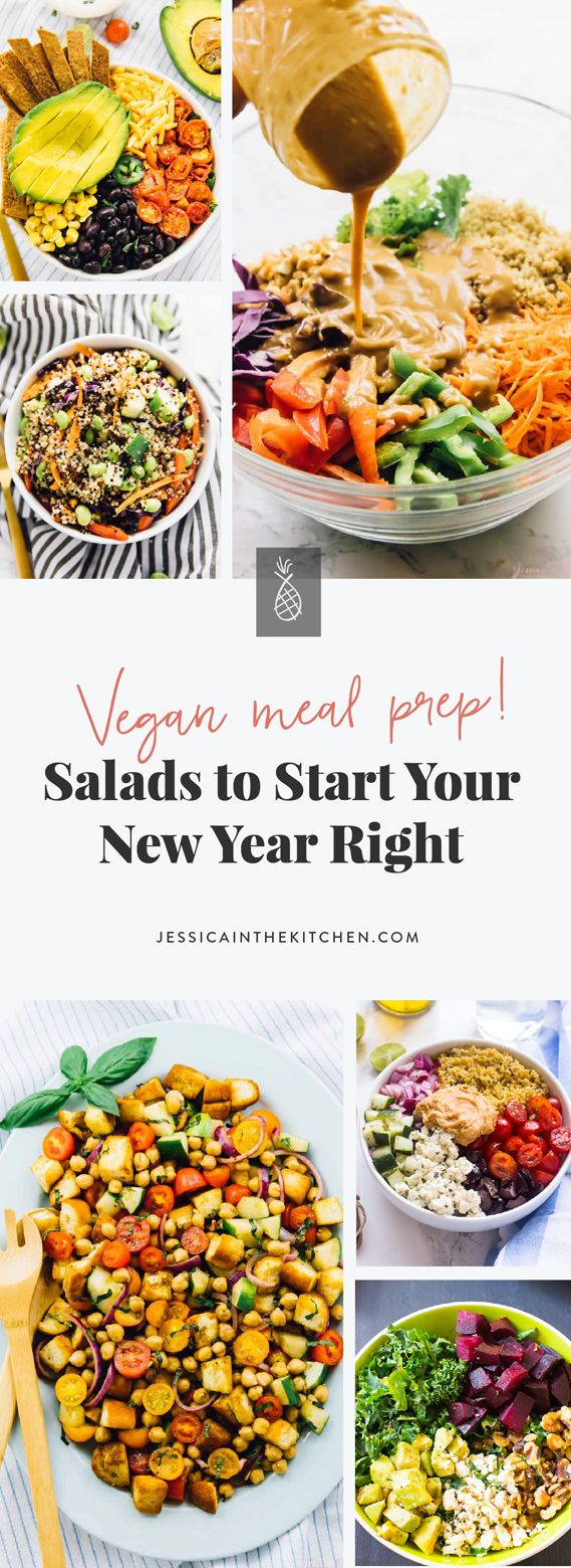 Photo of 17 Meal Prep Salads to Start Your New Year Right