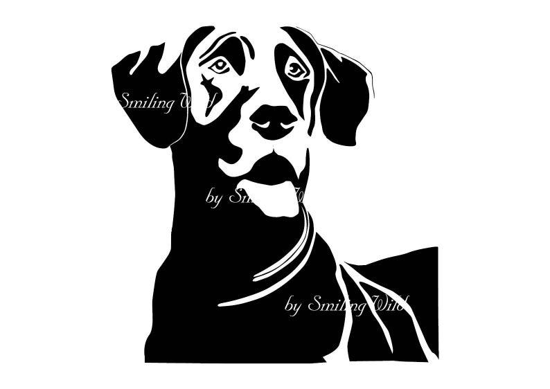 Great Dane Vector Graphic Art Printable Png Great Dane Instant Etsy Graphic Art Printable Art Great Dane