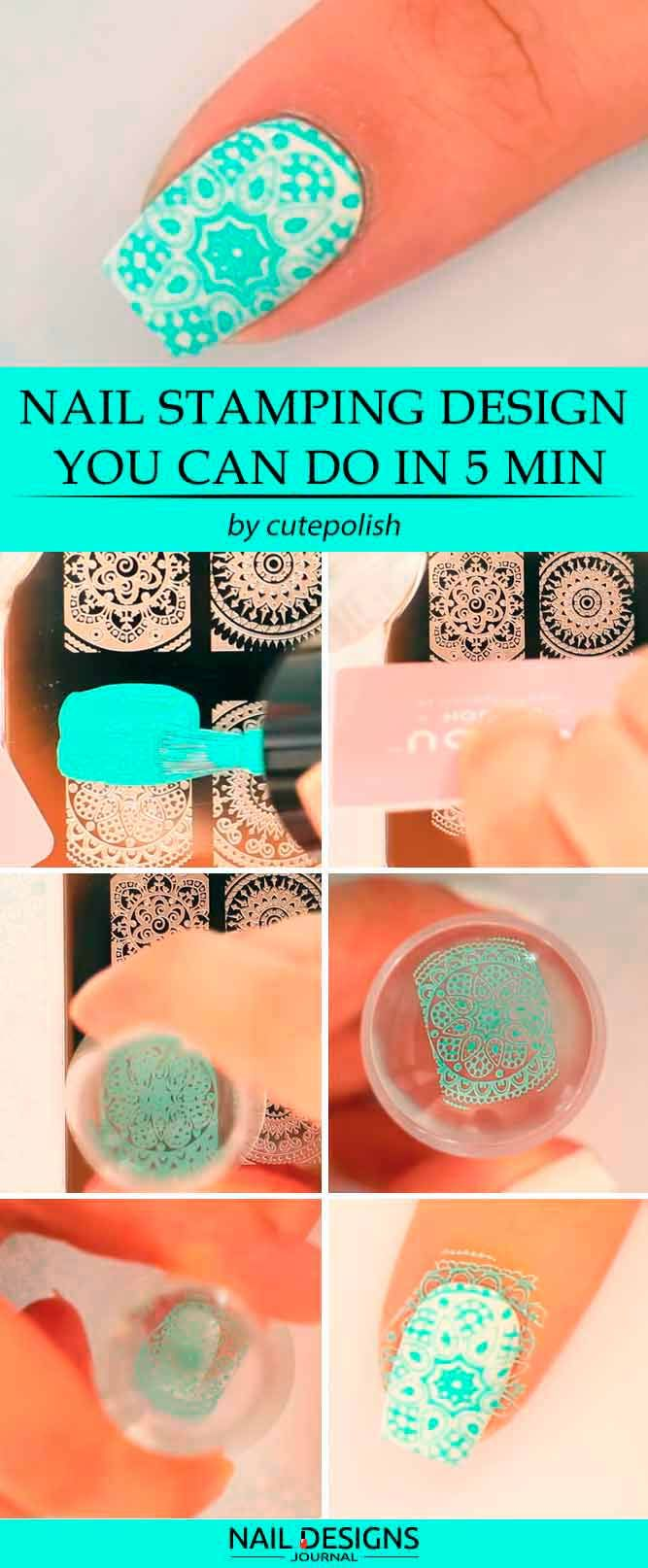 7 Ways To Do Nail Stamping Designs And Useful Tips For Everyone is part of Ways To Do Nail Stamping Designs And Useful Tips For Everyone - Nail stamping is one of the nail art techniques that is getting popular with every day  The truth is that there is nothing surprising about it since this technique is very versatile and easy to master  The fact it sit is going to be something that we are going to discuss today, so if you…