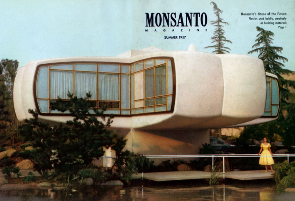 Monsanto House Of The Future Monsanto Brochure Kunststoff