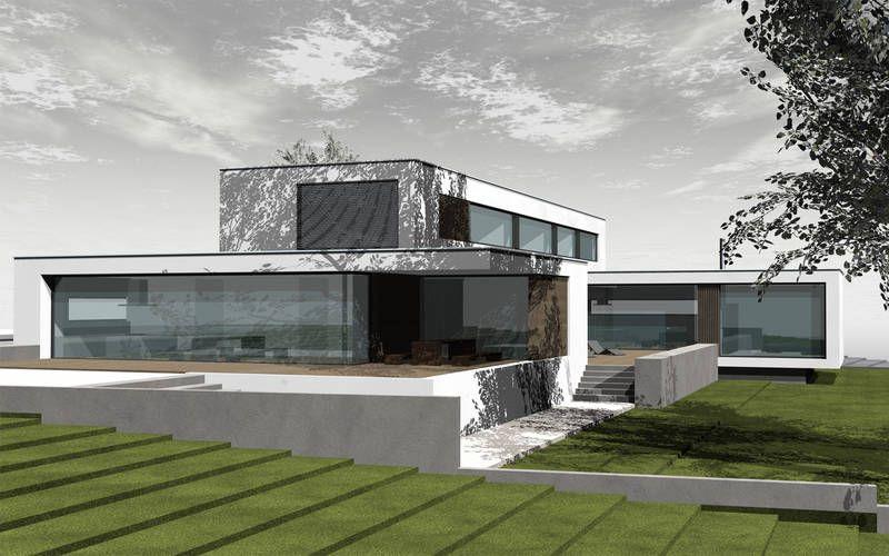 1300 einfamilienhaus neubau architekten architektur pinterest neubau. Black Bedroom Furniture Sets. Home Design Ideas