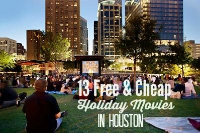 Free & Cheap Holiday Movies in Houston
