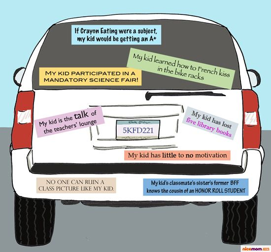 School Bumper Stickers You Won't See