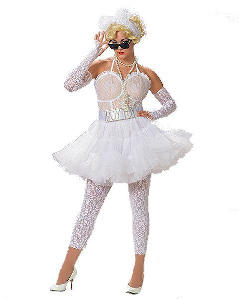 Borderline Adult Costume 80\u0027s inspired Pinterest Costumes and - madonna halloween costume ideas
