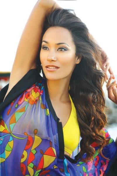 Beautiful Coloured Woman Former Miss South Africa -7412